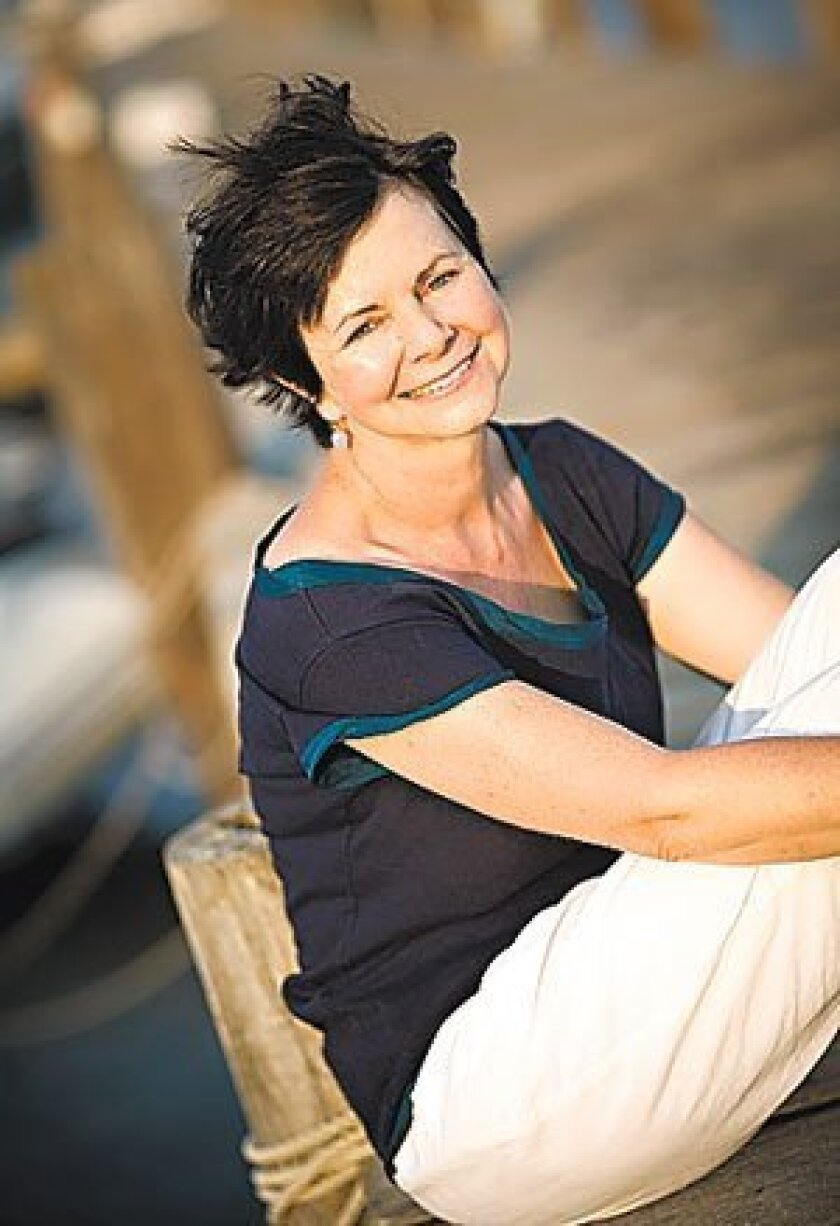 """Geraldine Brooks, who won the Pulitzer Prize for fiction in 2006, will be in town Wednesday to talk about her newest novel, """"People of the Book,"""" just out in paperback. (Randi Baird)"""
