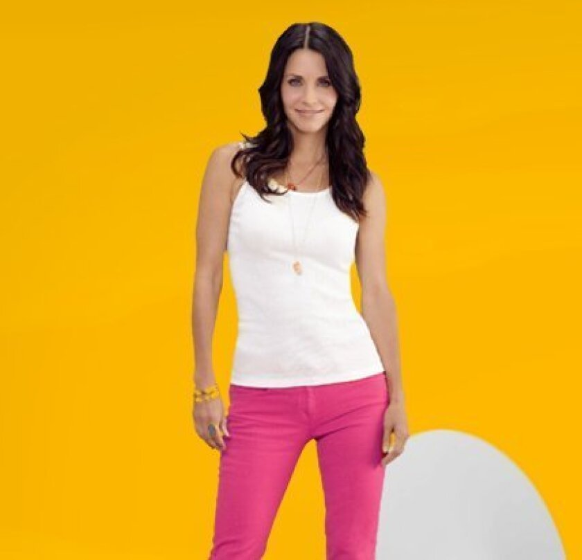 """According to """"Cougar Town"""" star Courtney Cox, plastic surgery is the wave of the future when it comes to combating aging. Photo Credit: TBS"""