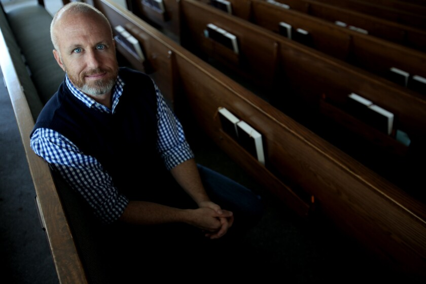 Alan Chambers, president of Exodus International, the oldest and largest Christian ministry dealing with faith and homosexuality, reflects on the group's changing course during its annual religious conference in Irvine.