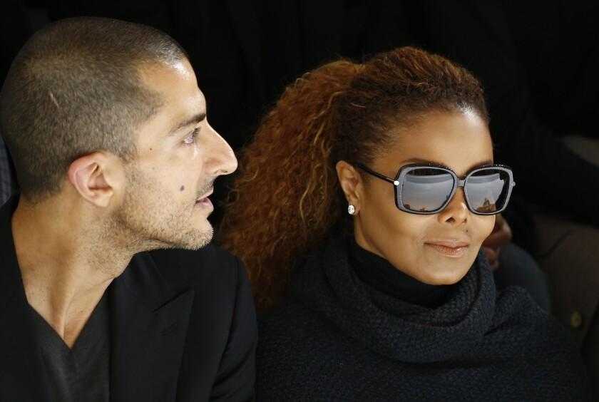Janet Jackson y su esposo Wissam Al Mana. REUTERS/Benoit Tessier/File photo