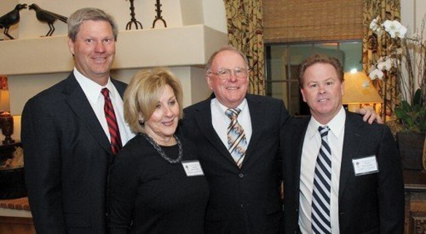 Scott Johnson, Sandy Bertram, Chuck Courtney, Terry Collins (Photo: Jon Clark)