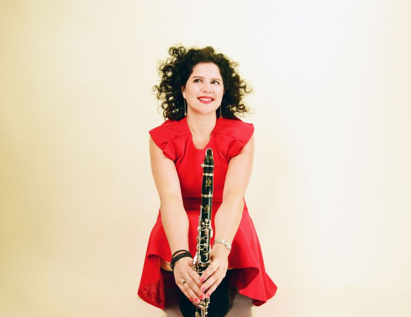 Jazz and Brazilian music clarinet master Anat Cohen is one of the artists set to perform at the La Jolla Music Society's new Conrad Prebys Performing Arts Center this spring.