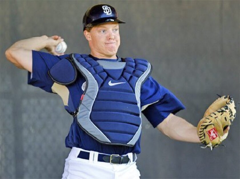 Nick Hundley's focus will be on giving umpires a clear 