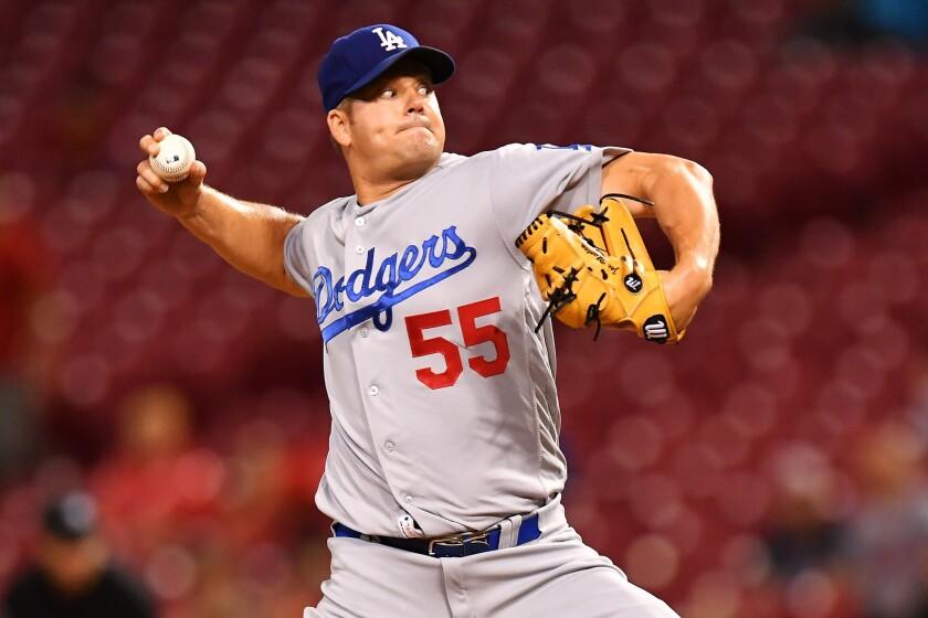 Joe Blanton has resurrected his career in the Dodgers bullpen