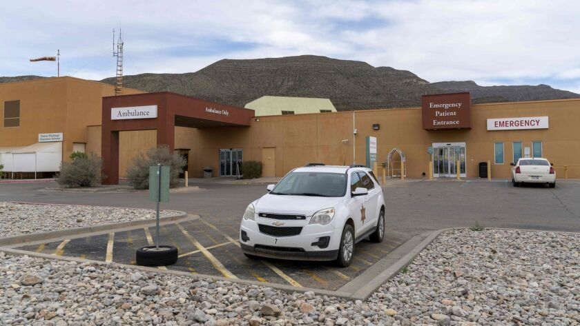 The hospital in Alamogordo, N.M., where an 8-year-old boy from Guatemala died on Christmas Eve.