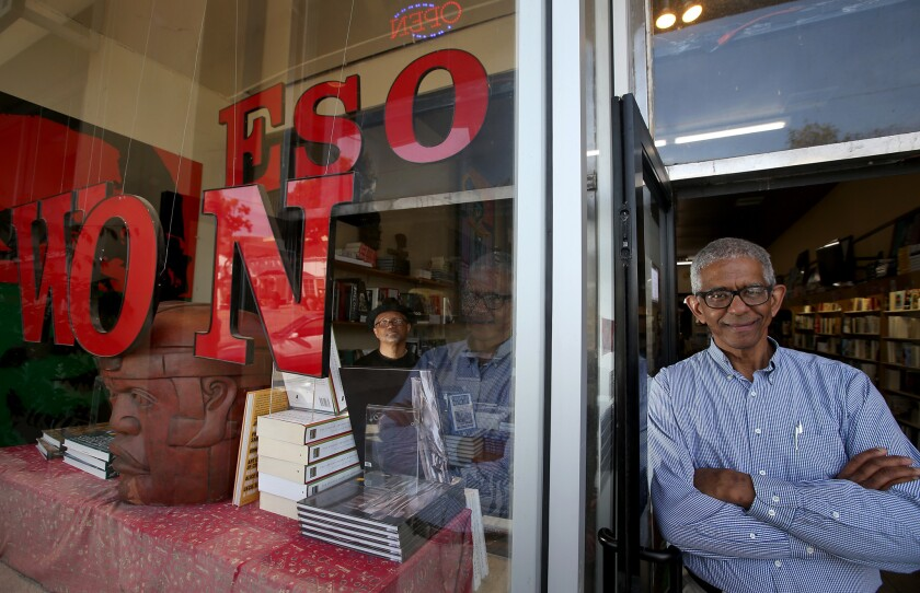 Eso Won bookstore co-owner James Fugate