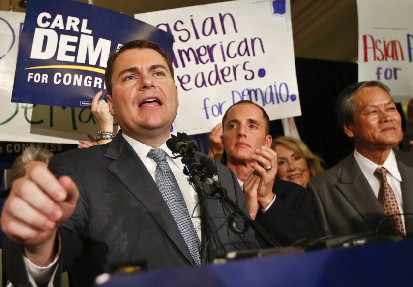 Republicans thought Carl DeMaio could beat the Democratic incumbent in the 52nd Congressional District in San Diego in 2014. His campaign was hurt by last-minute accusations and he lost.