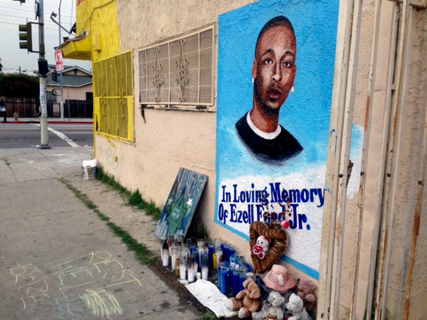 Ezell Ford Memorial
