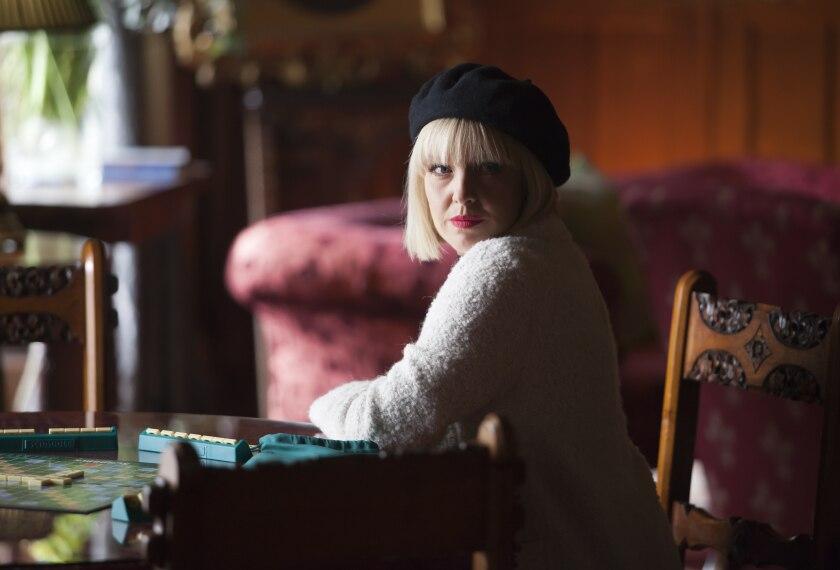 "Ashley Jensen is a former publicist solving murders in an English village in Acorn TV's ""Agatha Raisin."""