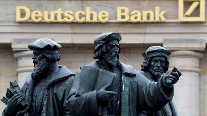 El Deutsche Bank, gigante financiero alemán, ha enfrentado dificultades en meses recientes y los observadores han dicho que esos líos podrían causar problemas delicados a la economía mundial.
