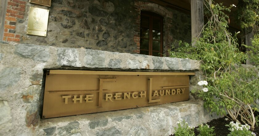 Gov. Gavin Newsom dined at the French Laundry in Yountville, Calif., with his wife and six other couples on Nov. 6.