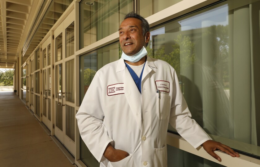 Dr. Adupa Rao is a pulmonologist on the front lines at Keck Hospital of USC
