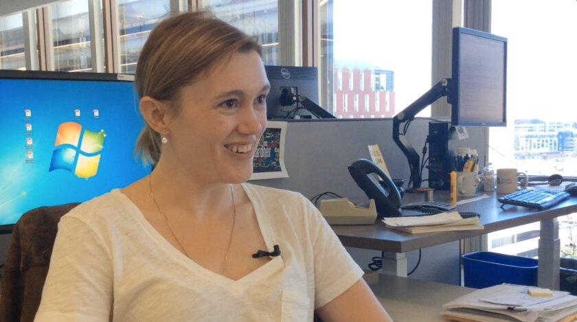 U-T watchdog reporter Morgan Cook