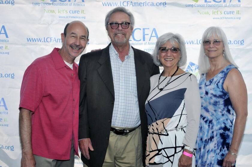 LCFA Executive Director Jim Baranski, Michael and Esther Zellen of sponsor Windes, LCFA President and co-founder Kim Norris