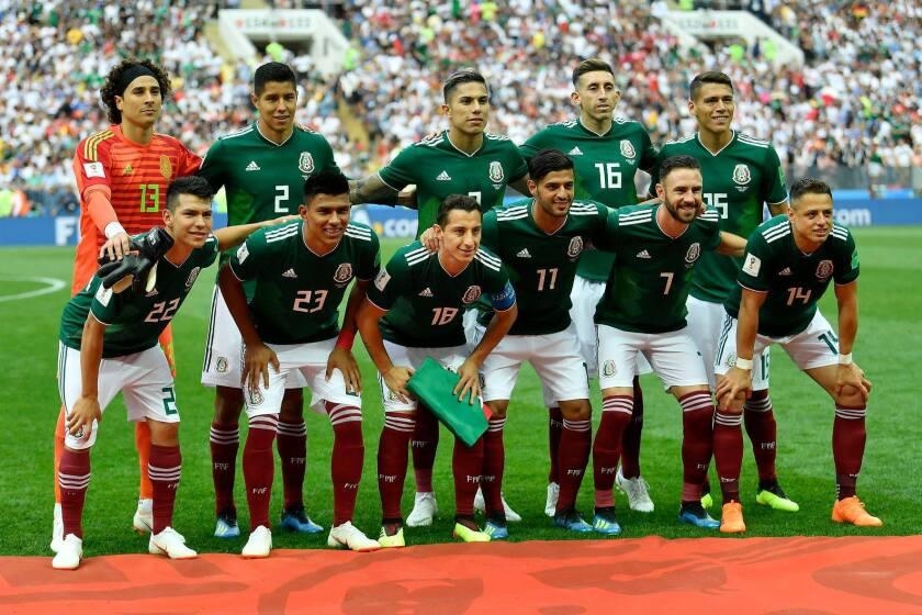 El Tri en la Copa del Mundo 2018.