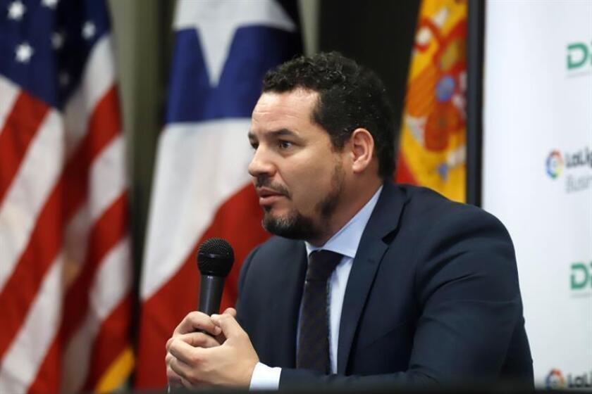 El director de la Liga Business School, José Moya, habla en rueda de prensa. EFE/Archivo