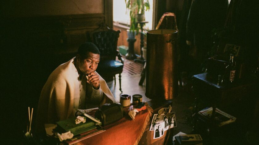 Jonathan Majors stars as Montgomery Allen in THE LAST BLACK MAN IN SAN FRANCISCO, an A24 release. Cr