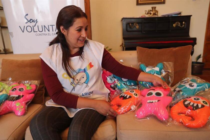 Friendly monsters help treat childhood cancer in Bolivia