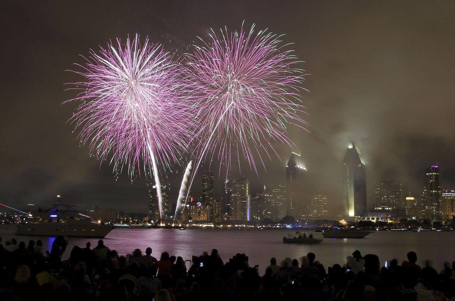 965d5944 Where to watch fireworks in San Diego - The San Diego Union-Tribune