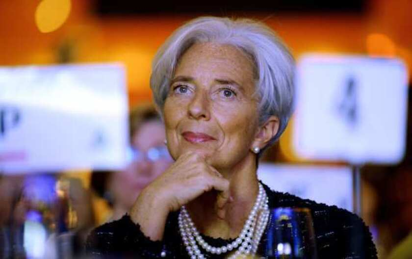 """IMF's Lagarde asks for more """"firepower"""" and U.S. involvement"""