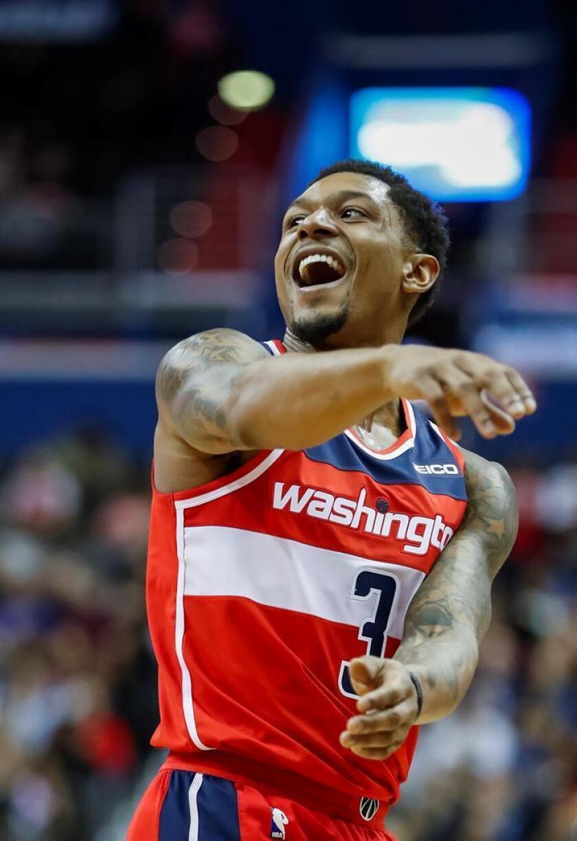Bradley Beal logró 23 puntos para los Wizards de Washington, que vencieron por 100-90 a los Magic de Orlando. EFE/Archivo
