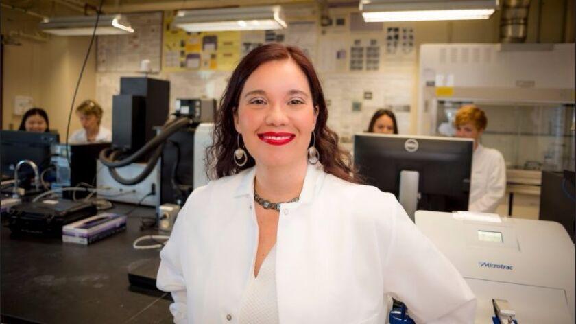 Olivia Graeve, ingeniera tijuanense y catedrática de la Universidad de California San Diego