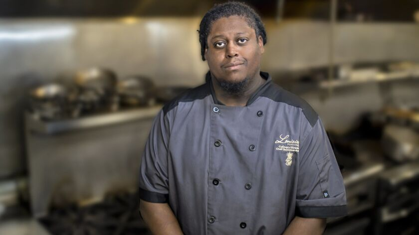 Chef Quinnton Austin will lead the kitchen at Louisiana Purchase, a New Orleans-inspired courtyard restaurant/bar opening in North Park in January. It's one of the most anticipated new San Diego County restaurants of 2019.