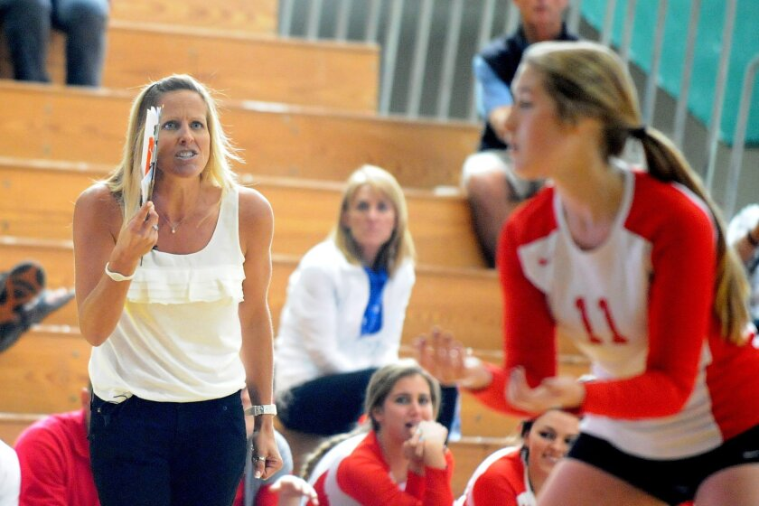Cathedral Catholic volleyball coach Kelly Drobeck has led the Dons to more than a dozen titles.