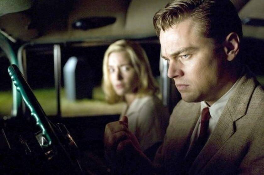 """In """"Revolutionary Road,"""" the couple's dissolving marriage pushes them to near-savagery."""