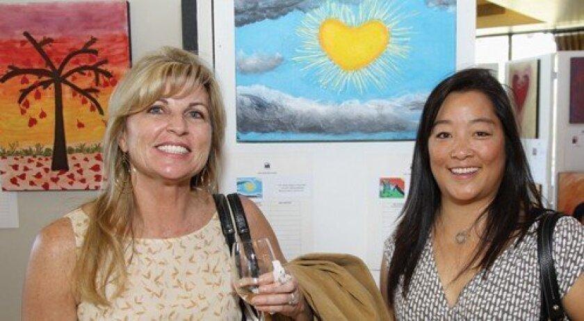 Kathy Matt, Teri Stevens (Photo: Jon Clark)
