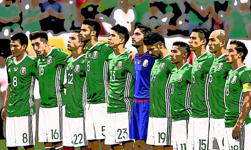 Selección de México.. días de crisis.