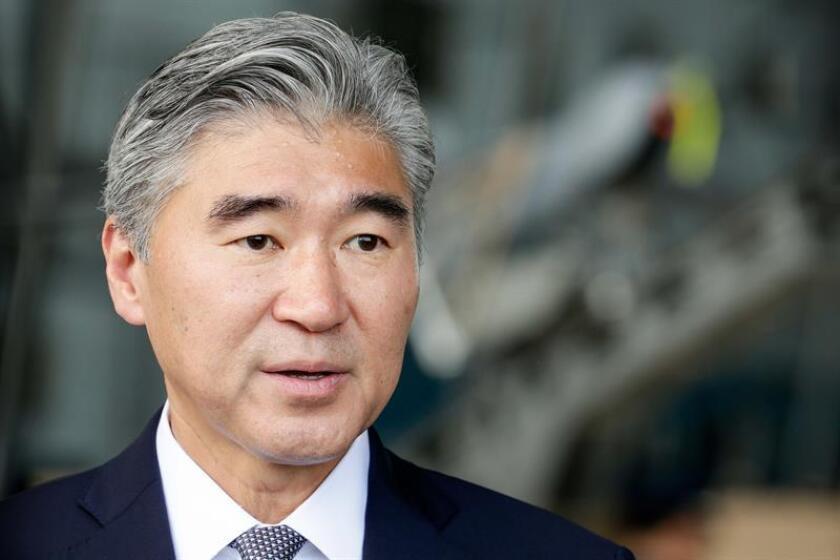 El embajador de Estados Unidos en Filipinas, Sung Kim, liderará este lunes a la delegación de Washington en un grupo de trabajo compuesto por representantes estadounidenses y norcoreanos que se reunirá en Singapur, según informó hoy la Casa Blanca. EFE/ARCHIVO