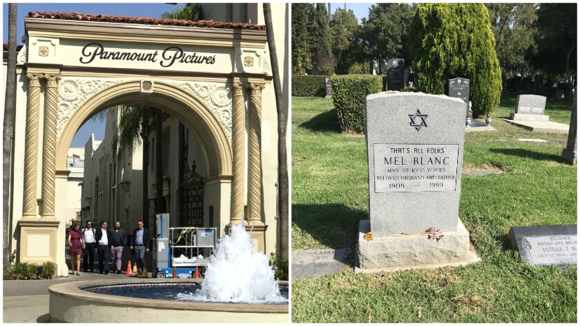 Paramount Pictures and the Hollywood Forever cemetery