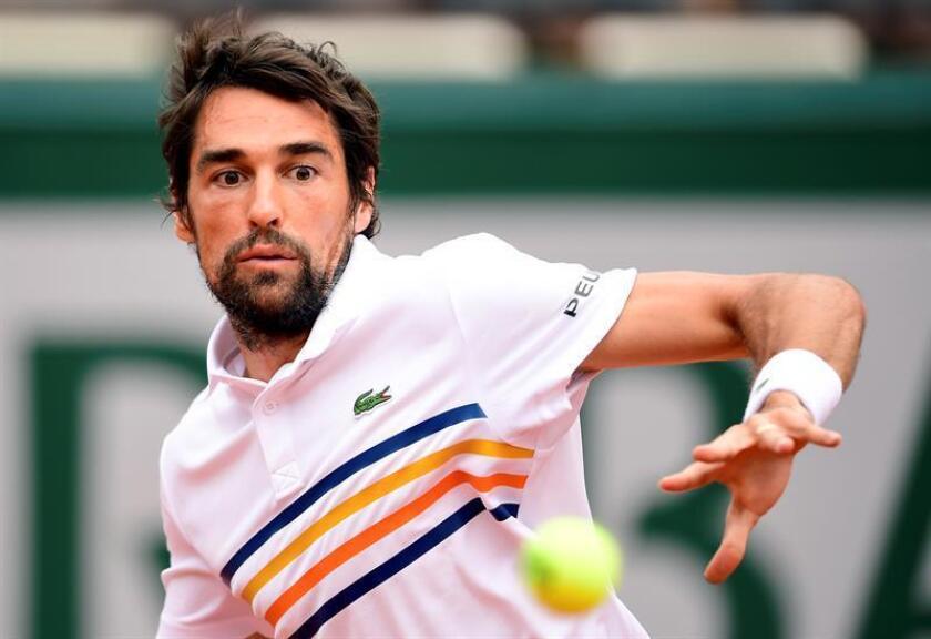 En la imagen, el tenista francés Jeremy Chardy. EFE/Archivo