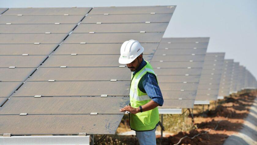 INDIA-ENERGY-SOLAR
