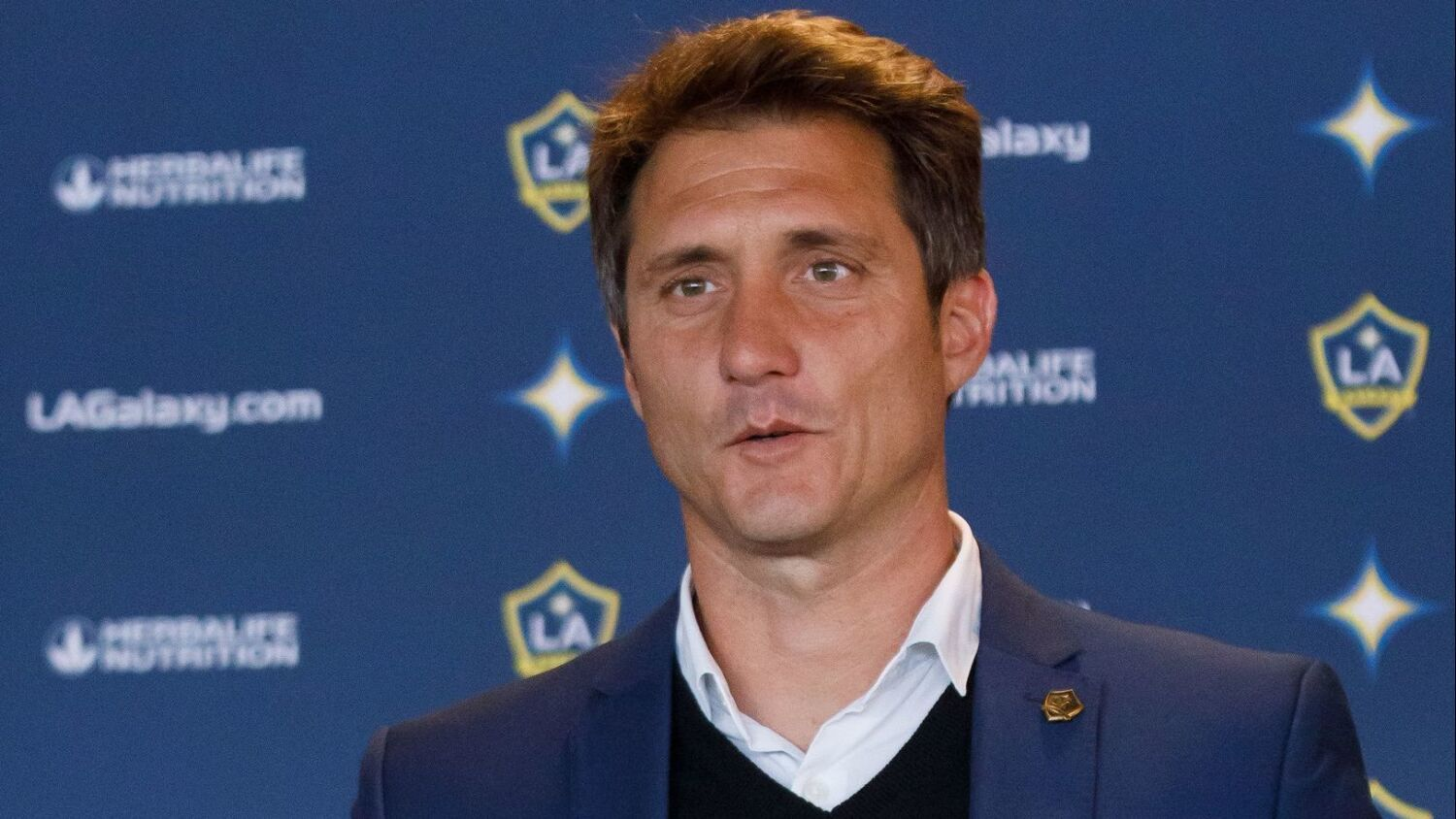 Galaxy fire coach Guillermo Barros Schelotto, will take time with next hire