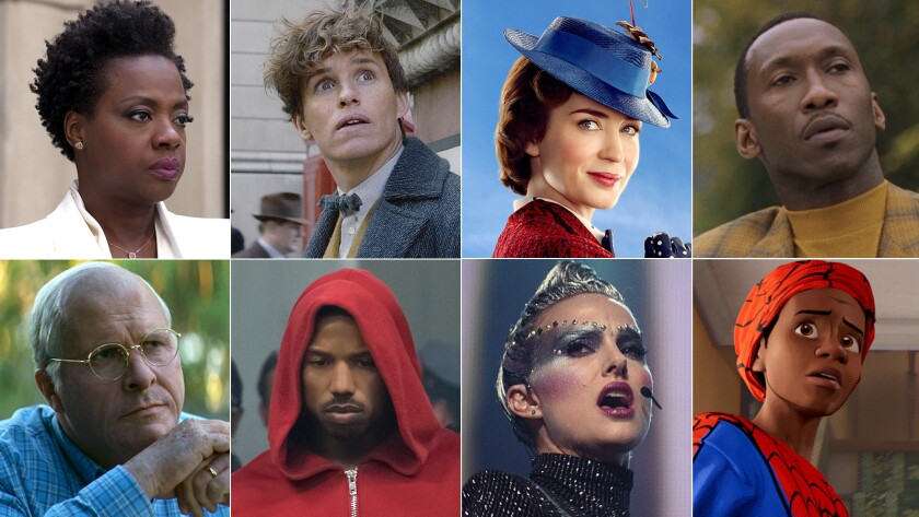 Virtually every film coming out this holiday season - Los