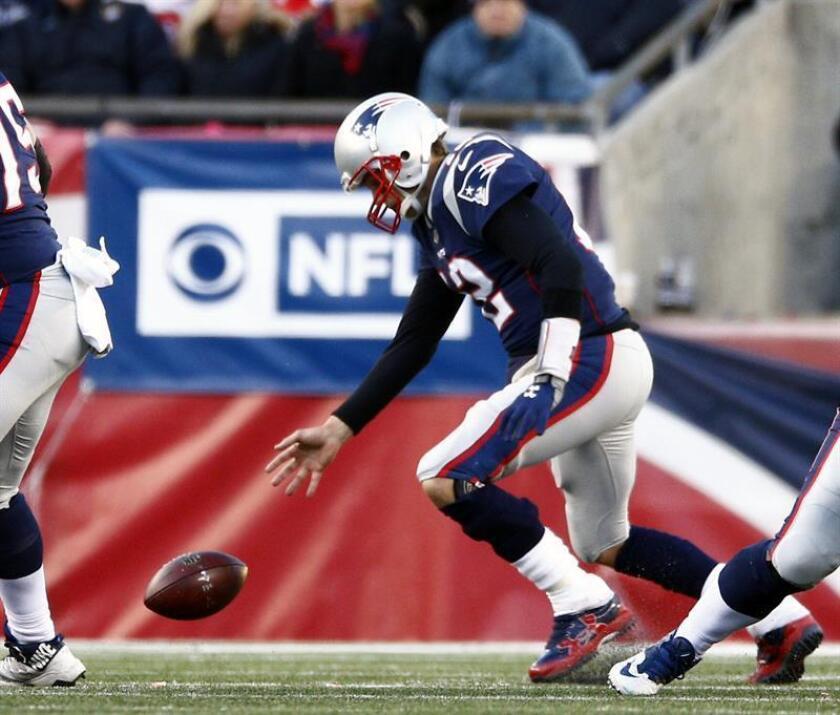 Tom Brady, mariscal de campo de los Patriots de Nueva Inglaterra. EFE/Archivo