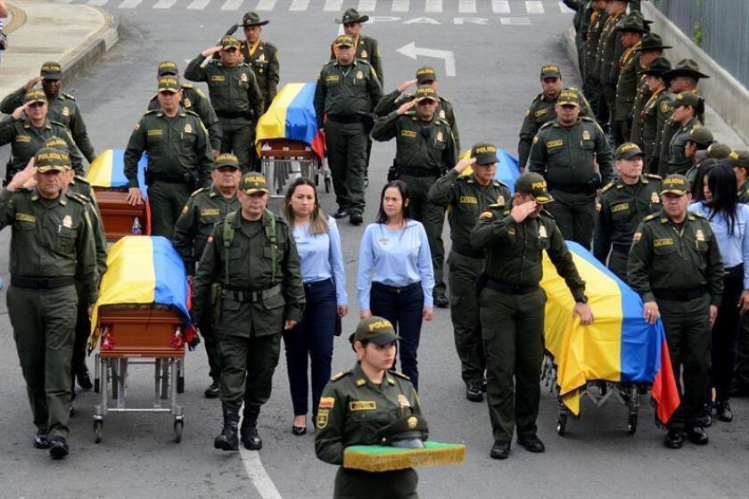 La Comisión Interamericana de Derechos Humanos (CIDH) condenó hoy el ataque en Colombia contra una comisión de la Unidad de Restitución de Tierra (URT), en el marco de la Ley de Víctimas, que provocó ocho muertos. EFE/STR