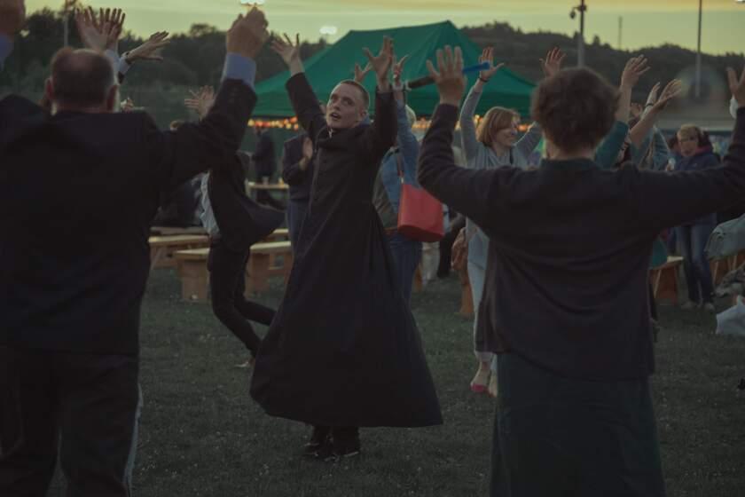 "Bartosz Bielenia in a scene from ""Corpus Christi."""