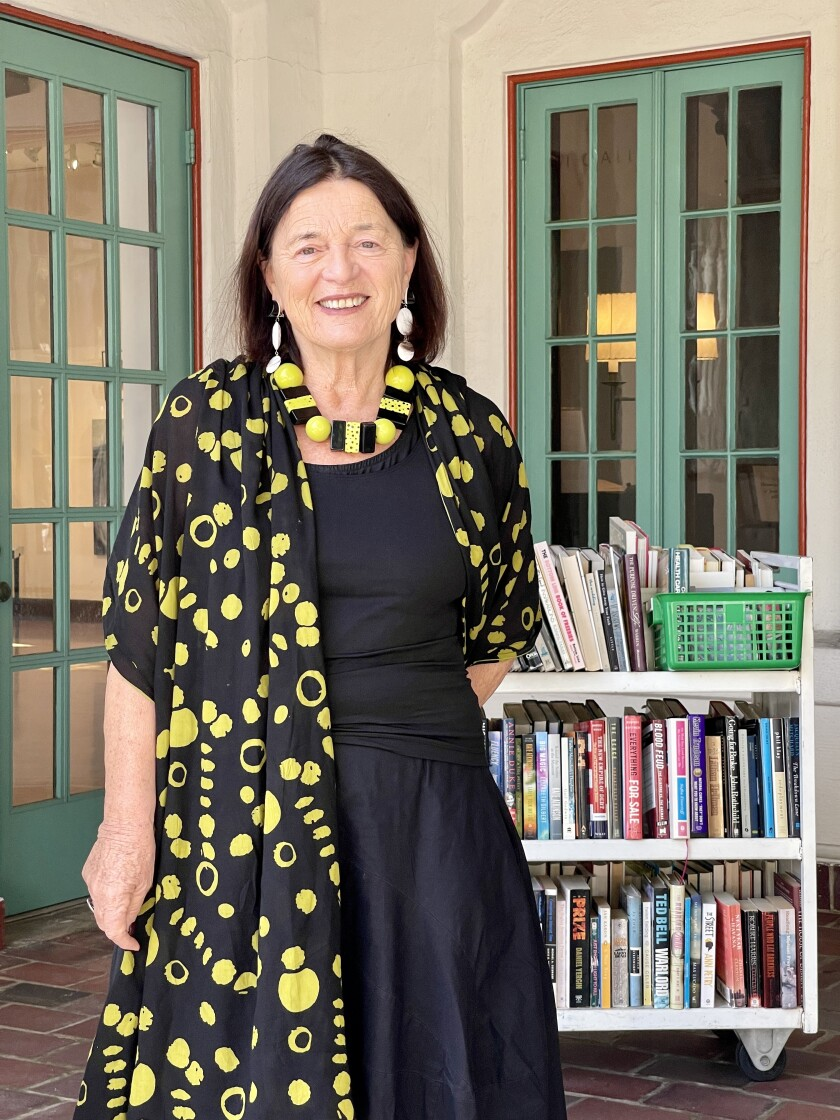 Erika Torri has led the Athenaeum Music & Arts Library in La Jolla for 32 years.