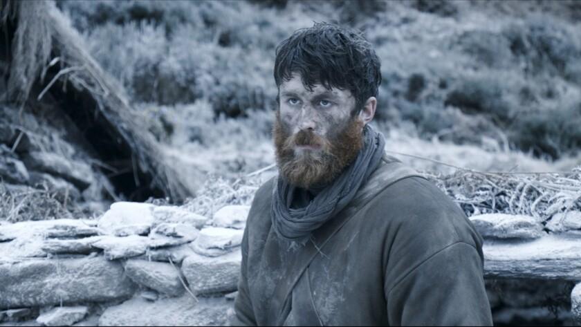 "James Frecheville as 'Feeney' in a scene from ""Black 47."" Credit: IFC Films"