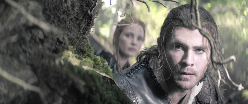 Review: 'The Huntsman: Winter's War' is a fairy tale in search of a tale to tell