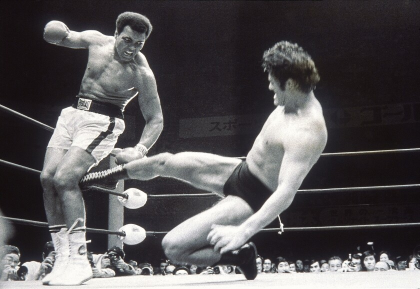 Muhammad Ali vs. Antonio Inoki in 1976