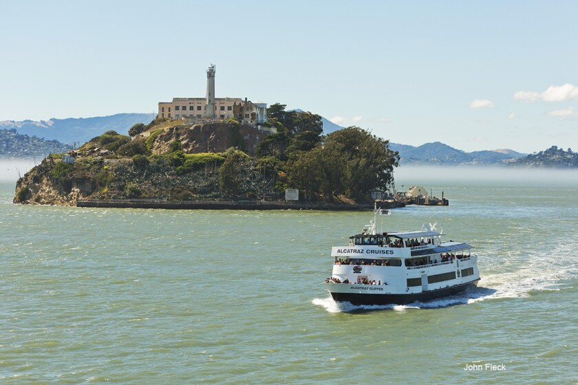 The former prison on Alcatraz Island in San Francisco Bay draws about 1.3 million visitors a year.