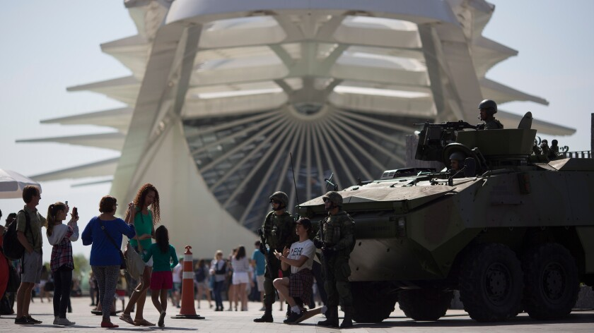 Modern Olympic games rack up massive security costs