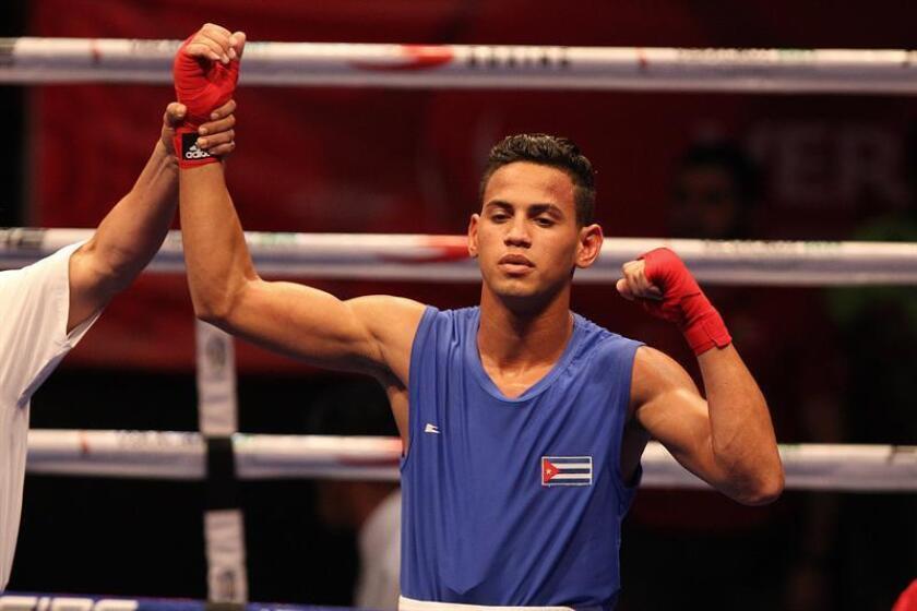 El boxeador cubano Robeisy Ramirez. EFE/Archivo
