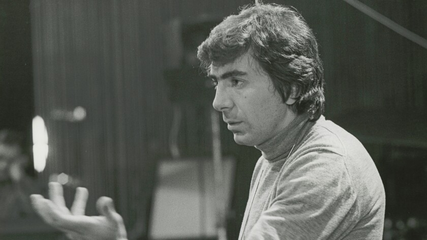 """Gordon Davidson in rehearsal for """"The Trial of the Catonsville Nine"""" in 1971."""