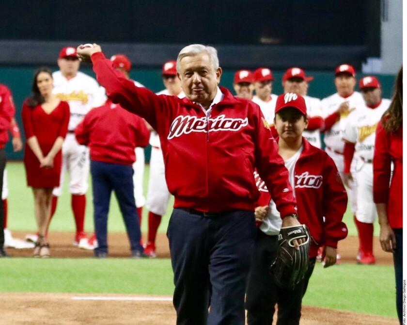 El Presidente Andrés Manuel López Obrador tiene a sus favoritos para llegar a la Serie Mundial 2020 de las Grandes Ligas.