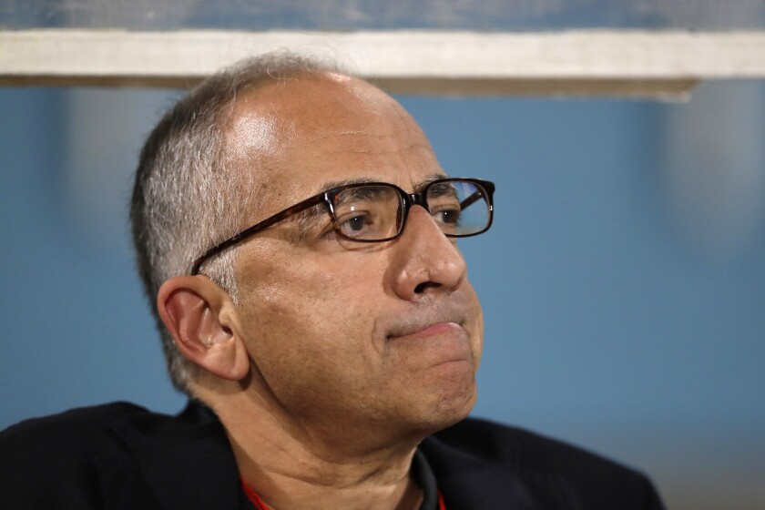 Carlos Cordeiro, president of the United States Soccer Federation, has resigned his post.